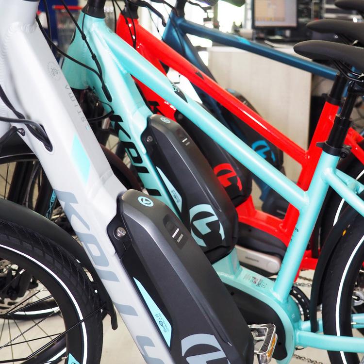 borna bikes showroom